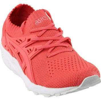 ASICS Gel Kayano Trainer Knit Womens in Peach/Peach by