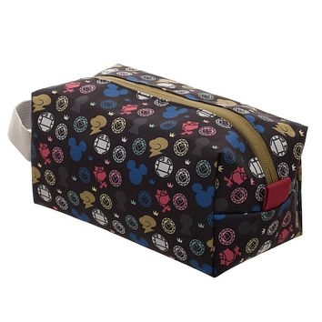 Kingdom Hearts Countertop Dopp Kit Travel Cosmetic Toiletry Bag