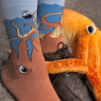 Socks By Sock Dreams  » Socks » Squid O Midcalf