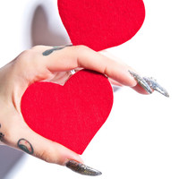 Pastease Heart Pasties Red One