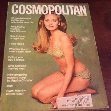Cosmopolitan Magazine July 1969 Cover Aino Korva