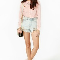 Ice Breaker Blouse - Blush
