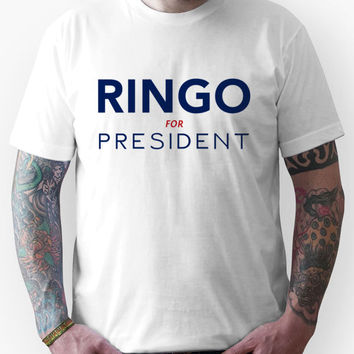 Ringo For President Unisex T-Shirt