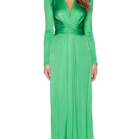 Issa Florence Maxi Dress in Green