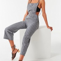 UO Striped Chambray Jumpsuit | Urban Outfitters
