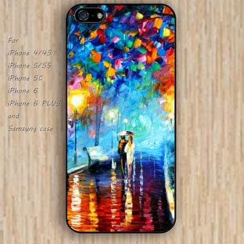 iPhone 5s 6 case watercolor tree case loves colorful phone case iphone case,ipod case,samsung galaxy case available plastic rubber case waterproof B538