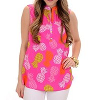 Anna Claire Top, Pineapple