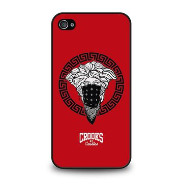 CROOK AND CASTLES BANDANA RED iPhone 4 / 4S Case