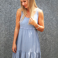 Come On Over Denim Dress
