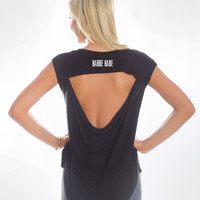 Barre Babe - Open Back Tee
