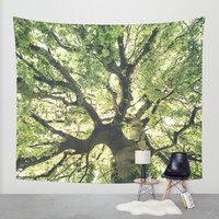 Under Your Skin Wall Tapestry by Tordis Kayma