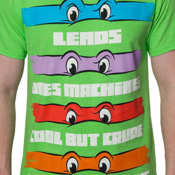 Ninja Turtle Theme Song T-Shirt