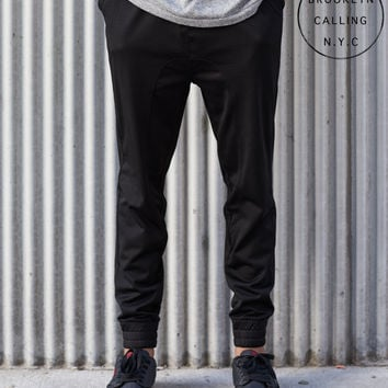 Brooklyn Calling Mesh Jogger Sweatpants