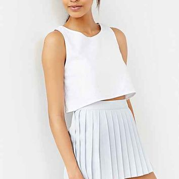 Silence + Noise Eloise Pleated Skort-