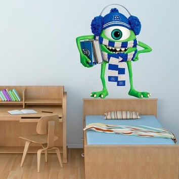 Monsters Decal   Monsters University Movie Wall Sticker Printed And Die Cut  Vinyl Apply In Part 59