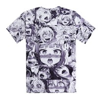 Sexy Anime Face T-shirt