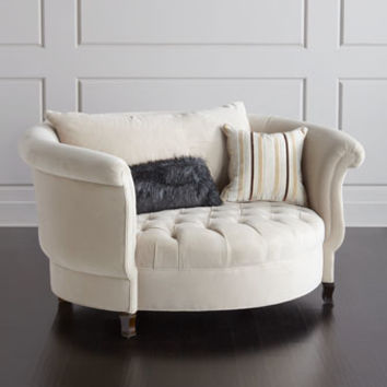 Superb Haute House Queen Buckwheat Cuddle Chair From Horchow Home Cjindustries Chair Design For Home Cjindustriesco