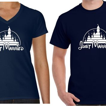 Just Married Shirts  | Our T Shirt Shack