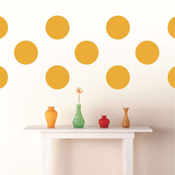 "6"" Polka Dots Wall Decals"