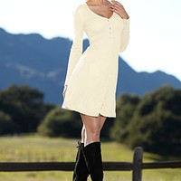 A-line sweater dress from VENUS