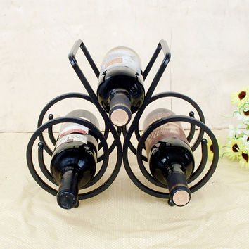 Bottle wine rack.Suit for home and office.Put the wine in right place = 4486868228