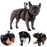 MCOCEAN Dog Harness Set GoPro Puppy Pet Accessories Set for GoPro Hero4 Hero 3+ Hero 3 GoPro Hero Camera: Dog Harness(Fetch,Dog Strap)+J-Hook(Vertical Quick Release Buckle)+Quick Release Buckle