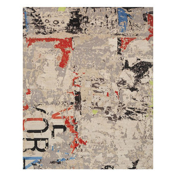 Palimpsest Wool/Silk Area Rug