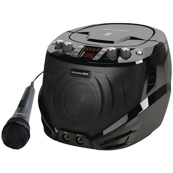 Karaoke USA(TM) GQ262 Portable CD+G Karaoke Player