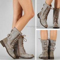 combat boots in Women's Shoes | eBay