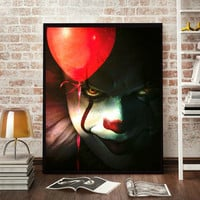 IT Pennywise Wall Art  | Lisa Jaye Art Designs
