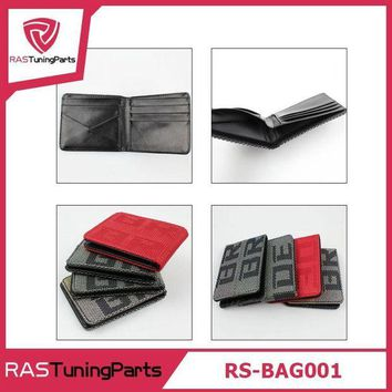 VONETDQ JDM Style 4 Styles Customized Bride Racing Fabric JDM Bride Wallet Money Clip RS-BAG001