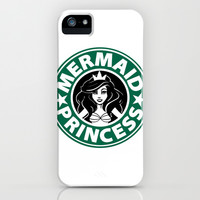 Mermaid Princess Coffee iPhone & iPod Case by LookHUMAN