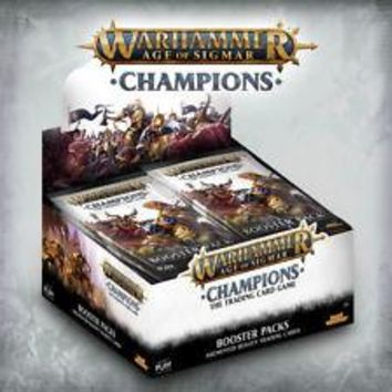 Warhammer Age of Sigmar: Champions Booster Display Box (24)
