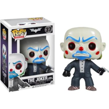 Dark Knight Joker Bank Robber Pop Vinyl Figure.