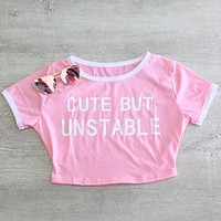 Cute But Unstable Crop Top