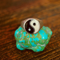 Ying Yang Ring by CosmicNorbu on Etsy
