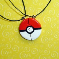 Pokemon - Set of Pokeball Friendship Necklaces