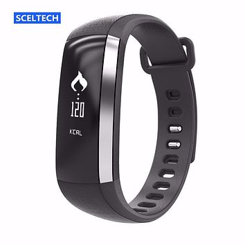 SCELTECH M2 Blood pressure Smart Bracelet Wrist Watch Pulse Meter Monitor Cardiaco Fitness For IOS VS Mi Band 2 Fitbits Fit Bit