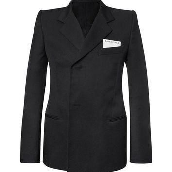 ONETOW balenciaga slim fit twill suit jacket 2