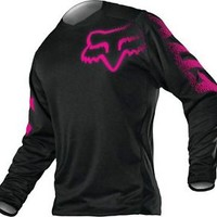 Fox Racing Women's Blackout Jersey - MX Motocross Off Road ATV Dirt Bike Gear