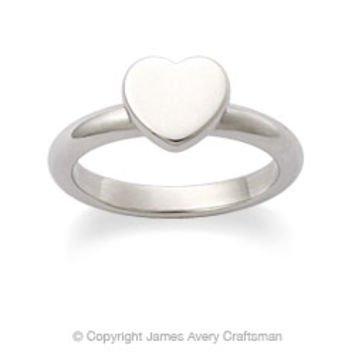 Heart Stackable Ring from James Avery