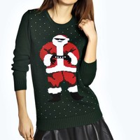 Farah Father Christmas Jumper
