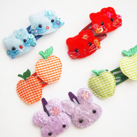 glamasaurus ♥Kawaii Cute Sweet Jewelry + Accessories ♥ — Cute Kawaii Snappy Clips Grab Bags
