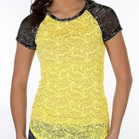 BKE Pieced Lace Top - Women's Shirts/Tops | Buckle