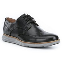 Original Grand Wingtop Oxford in Black and Ironstone by Cole Haan