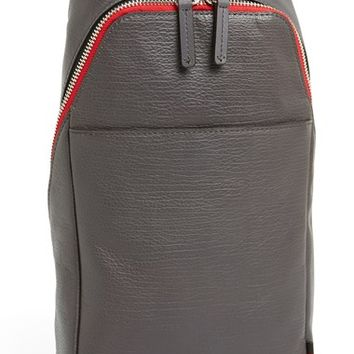 Men's Ben Minkoff 'Raleigh' Leather Sling Backpack