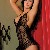 Lace Halter Merry Widow & G String | Sexy Clothes Womens Sexy Dresses Sexy Clubwear Sexy Swimwear | Flirt Catalog