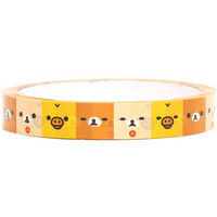 Kawaii Deco Tape Sanx Adhesive Stickers Rilakkuma by CharmTape