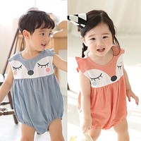 2016 Summer New s baby Bodysuit baby boy clothes s Short-sleeved newborn baby girl clothing