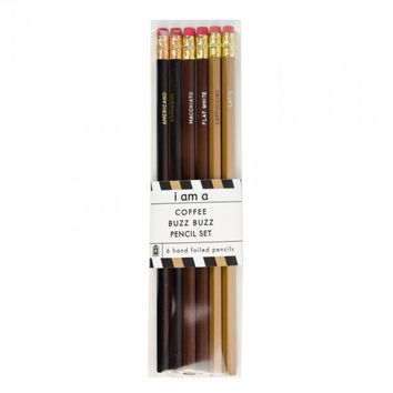 Coffee Buzz Buzz Pencils